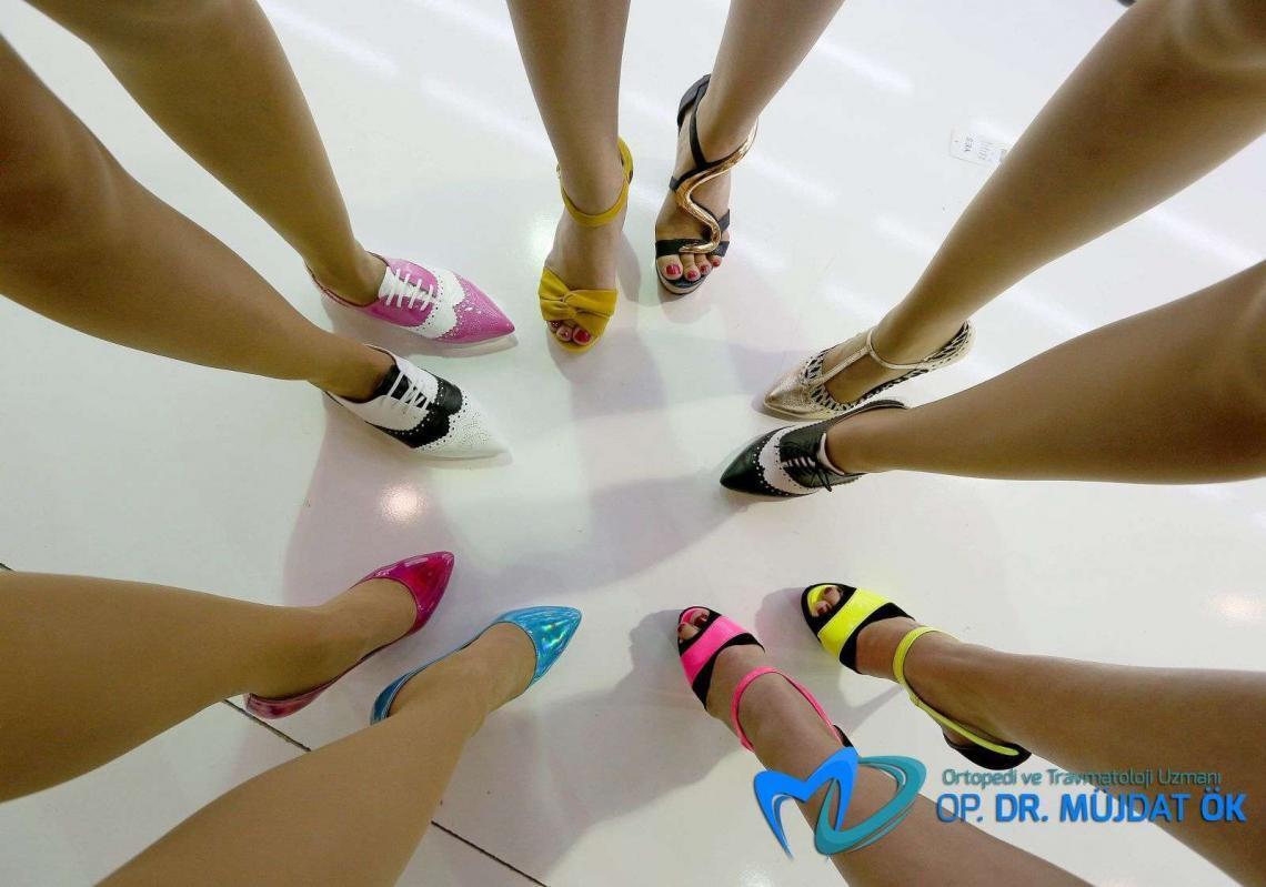 topuklu ayakkabı ağrısı